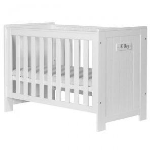 BARCELONA dziecięce łóżeczko 120×60 białe