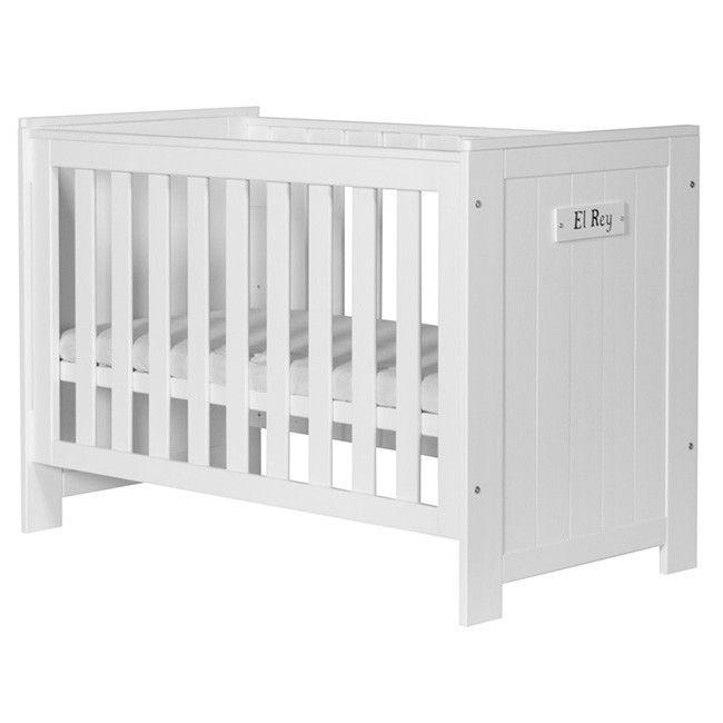 BARCELONA dziecięce łóżeczko 120x60 białe