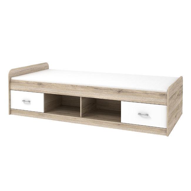 Franek multifunkcyjne łóżko z szufladami 90x200 cm