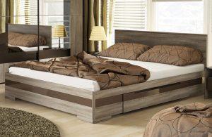 Eleganckie łóżka do sypialni 160×200 cm