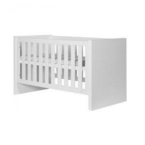Białe łóżeczko dziecięce 140×70 cm LARA