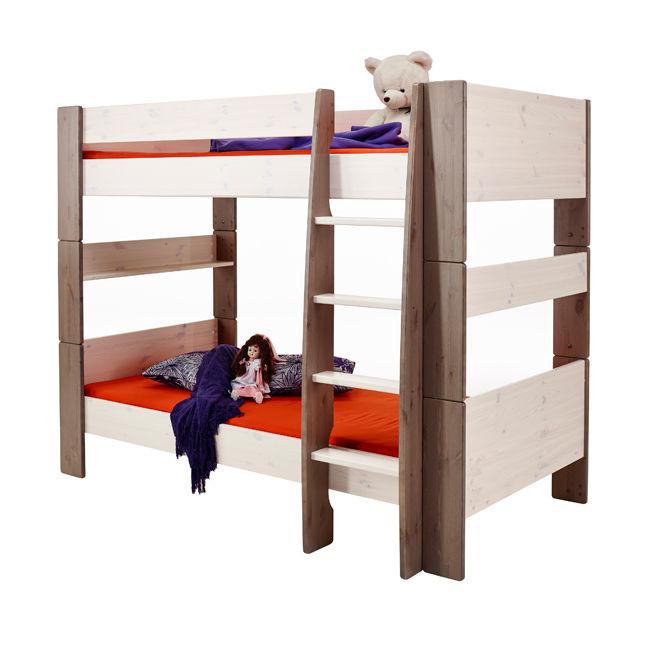 Piętrowe łóżko podwójne dla dzieci