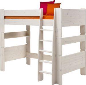 Łóżko piętrowe dla dziecka pojedyncze sosna