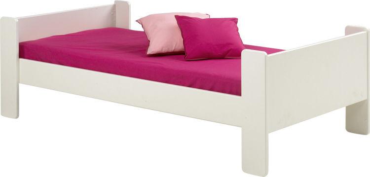 Łóżko Steens For Kids - biały mdf