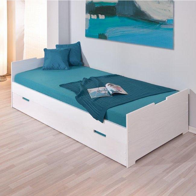 Podwójne łóżko Młodzieżowe 90x200 Martin Dla Domu