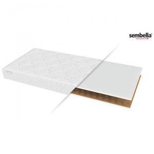 Materac bonnelowy 100×200 cm letnio-zimowy IBIZA