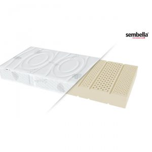 Materac lateksowy 140×200 cm HETMAN AQUA H2/H3