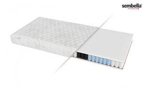 Sprężynowy materac kieszeniowy 180×200 cm BOLERO