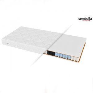 Materac strefowy 140×190 cm z pokrowcem do prania SAMBA