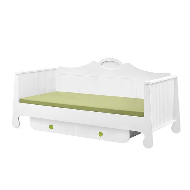 rustykalne łóżko dziecięce 200x90 cm