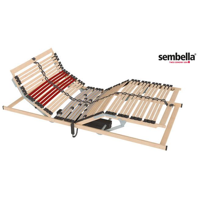 Stelaż Do łóżka Regulowany Elektrycznie Sembella 90 X 200