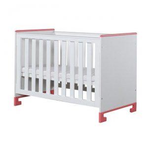 łóżeczko drewniane dziecięce 120×60 cm TOTO