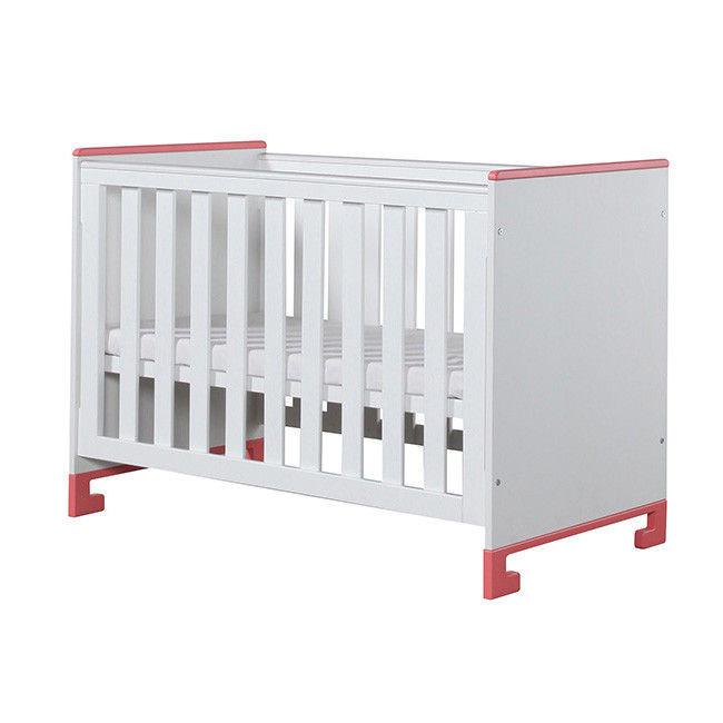 łóżeczko drewniane dziecięce 120x60 cm TOTO