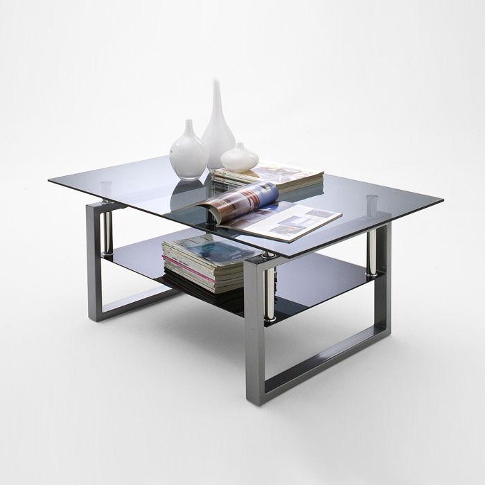 Szklany stolik kawowy Alfred
