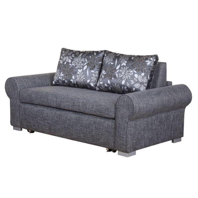Sofa dwuosobowa z funkcją spania BALINA 140 cm