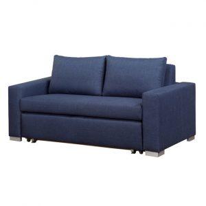 DERRY sofa dwuosobowa 140 cm – niebieski
