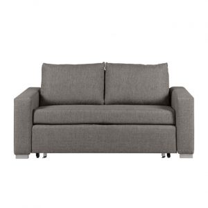DERRY sofa dwuosobowa 140 cm – szary