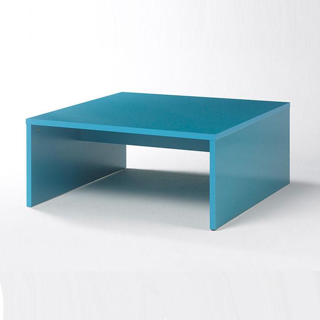 Niebieski stolik kawowy DROPS