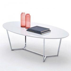 Duży owalny stolik kawowy Kima 120 cm