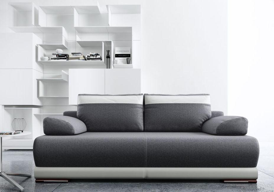 Sofa z funkcją spania Ontario ciemno szara