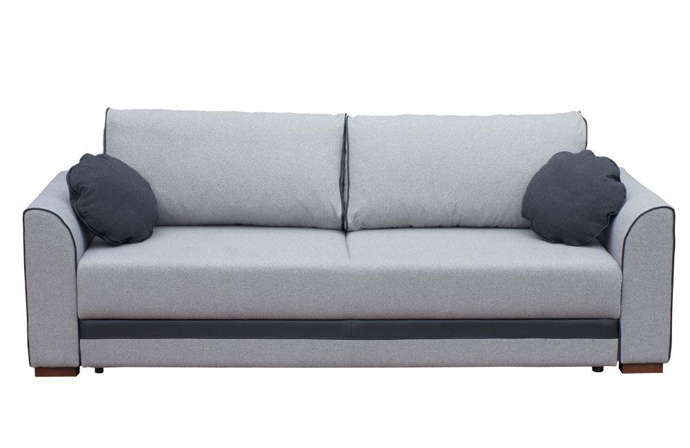 szara sofa rozkładana nowoczesna TACOMA