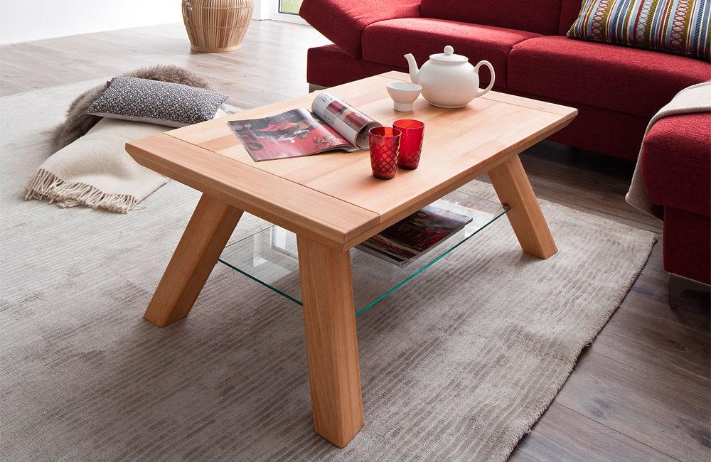 Drewniany stolik kawowy Wega bukowy