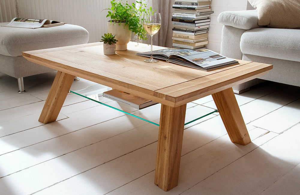 Wega kawowy dębowy stolik do salonu
