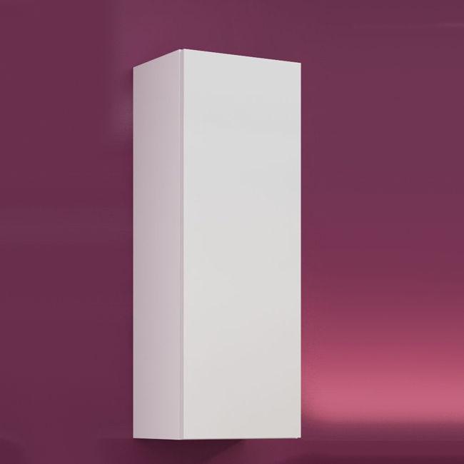 Biała szafka wisząca krótka pełna VIGO