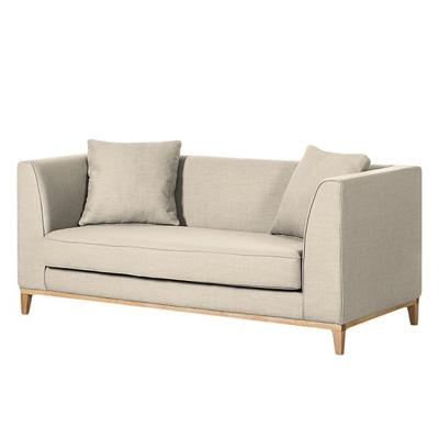 Beżowa sofa LILY klasyczna sofa dwuosobowa