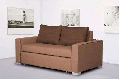 Rozkładana sofa dwuosobowa DEBRI 140 cm
