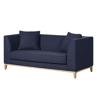 Granatowa sofa LILY klasyczna sofa dwuosobowa