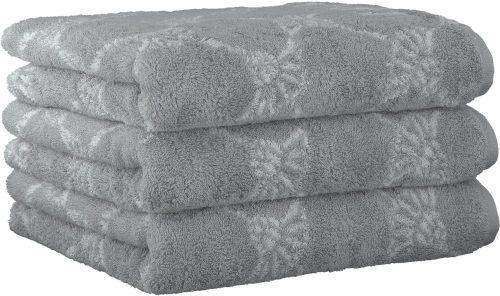 Miękki ręcznik 3 szt 50×100 cm szary
