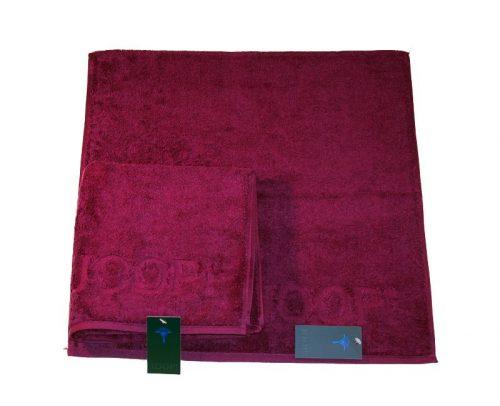 Bordowy ręcznik 140X70 CM gładki