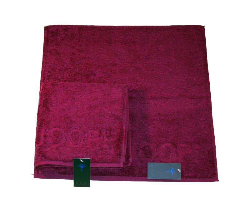 Bordowy ręcznik 140X70 CM gladki