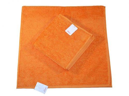Pomarańczowy ręcznik 140X70 CM gładki