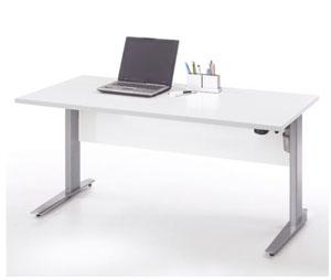 Biurko komputerowe Prima białe