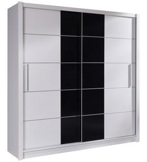 Roma szafa 2-drzwiowa 180 cm Biała