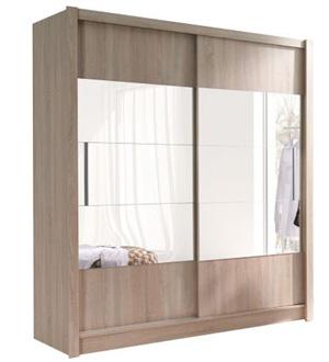 Roma szafa 2-drzwiowa z lustrem 180 cm