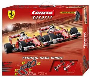 Tor wyścigowy dla dzieci Carrera Go Duch Ferrari