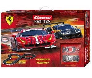 Tor wyścigowy Carrera Evolution Ferrari Trophy dla dzieci