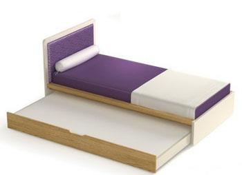 Podwójne łóżko dziecięce / młodzieżowe Frame Timoore