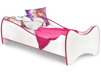 Klasyczne łóżko dziecięce z materacem Duo