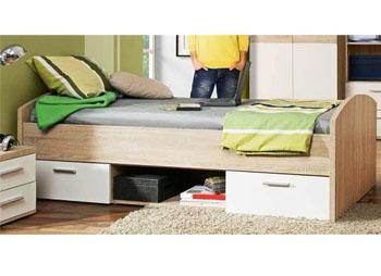 Łóżko młodzieżowe Winnie z szufladami