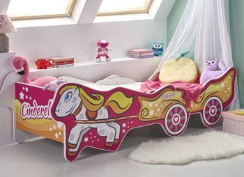 Łóżko dla dziewczynki z regulacją długości