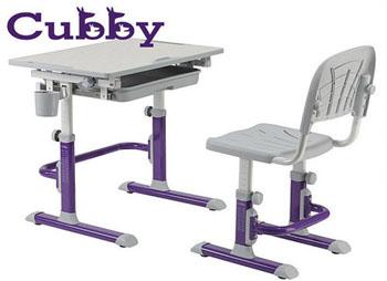Biurko regulowane dziecięce z krzesłem Cubby Lupin
