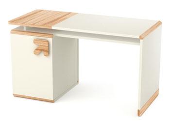 Biurko do pokoju młodzieżowego z kontenerkiem Limo