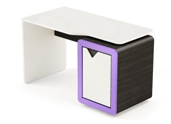Biurko młodzieżowe z kontenerkiem FRAME LIGHT