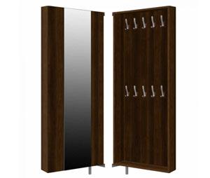 Podwójna garderoba do przedpokoju z lustrem SLO 28G2