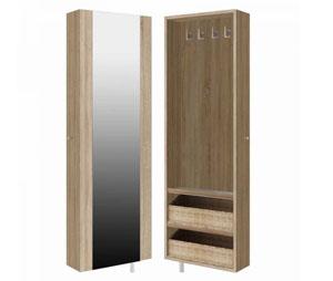 Garderoba z półkami i lustrem STO 25GP