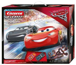 GO!!! Carrera Go Tor wyścigowy Cars 3 - Fast Not Last